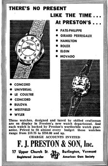 Some of the watches advertised might have been a bit pricey for BHS students.