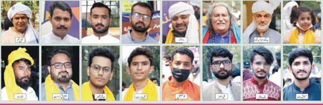 پولیس دی رکاوٹاں دے باوجود لہور وچ پنجابی رہتل دیہاڑ منایا گیا 9