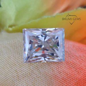 1CT-50CT Radiant Colorless VVS1 Clarity Loose Moissanite Diamond   Gemstone   Loose Diamond Stone   Ring   Pendant   Earring   Bhumi Gems