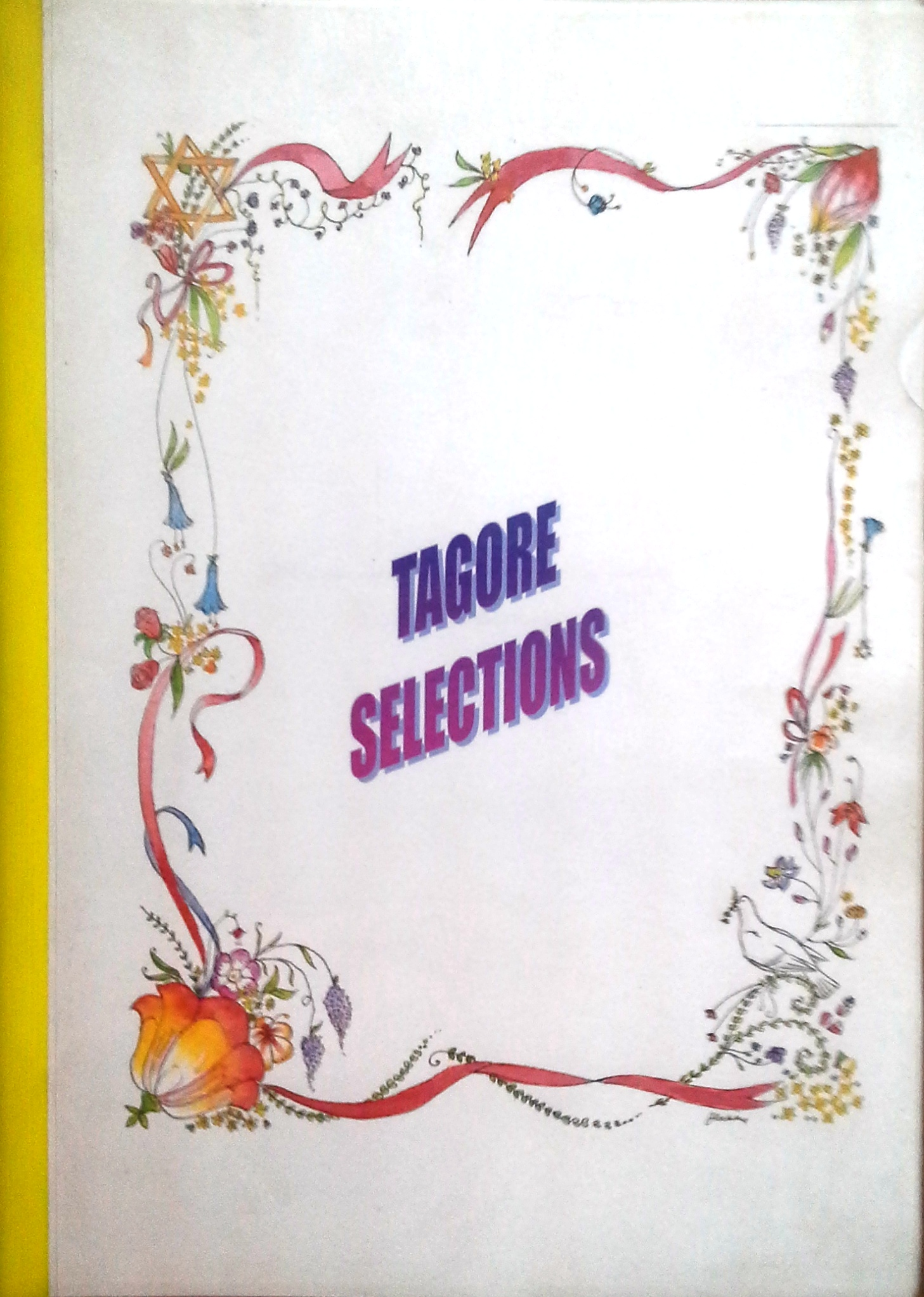 It is the cover page of compilations from Tagore