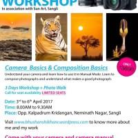 Mastering Digital SLR Photography - Basics, Workshop at Sangli