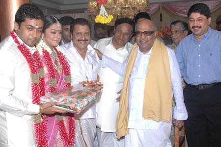 With Tamilnadu Chief Minister