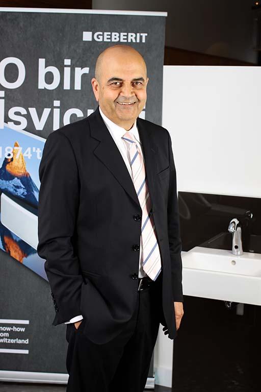 Geberit Türkiye Genel Müdürü Cengiz Kazazoğlu