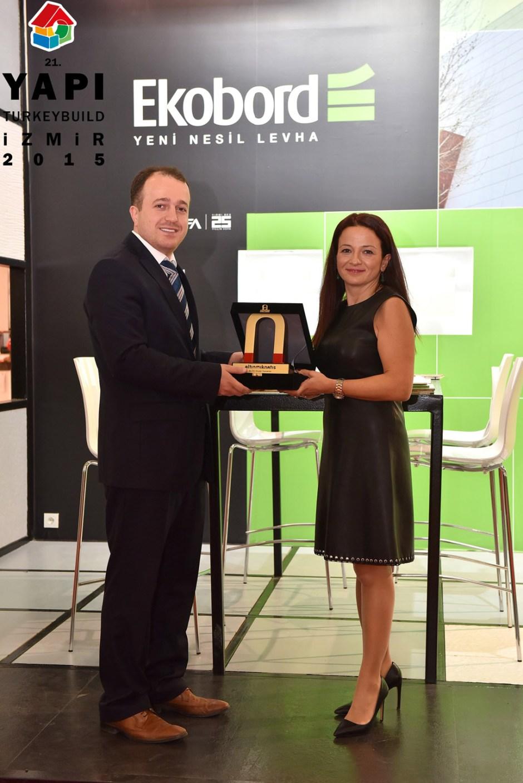 Altın Mıknatıs 3.'lük Ödülü Sahibi Ekobord