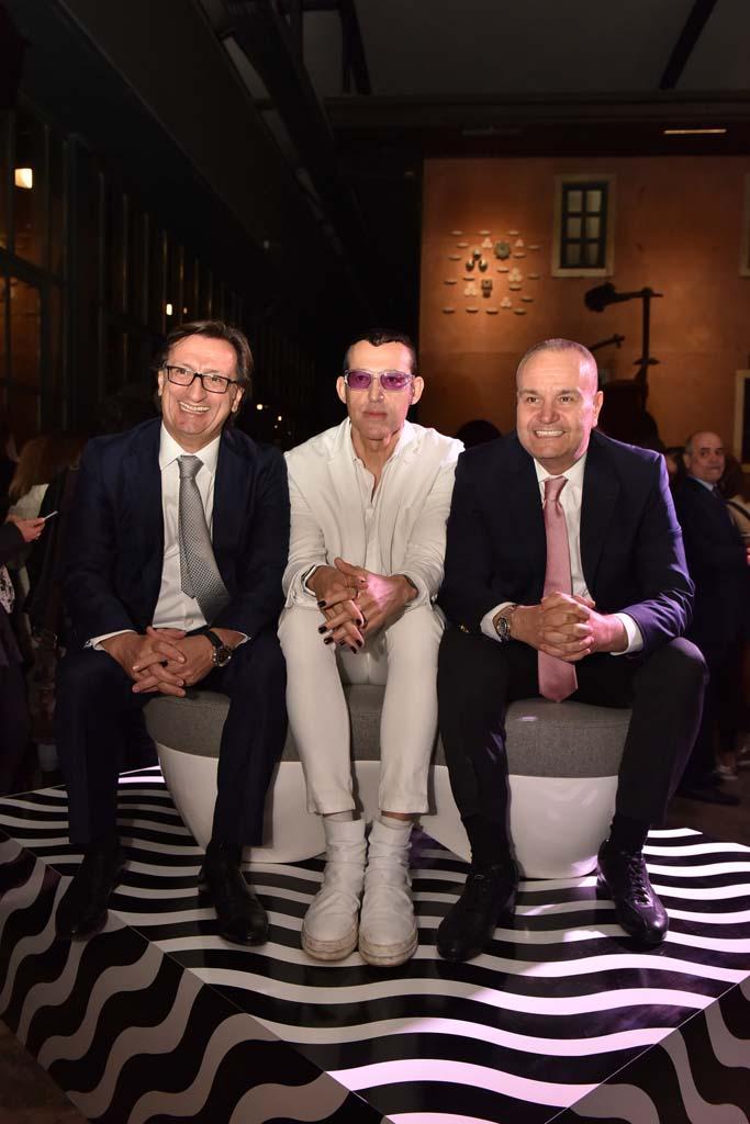 Nuri Tuna, Karim Rashid, Mehmet Arda