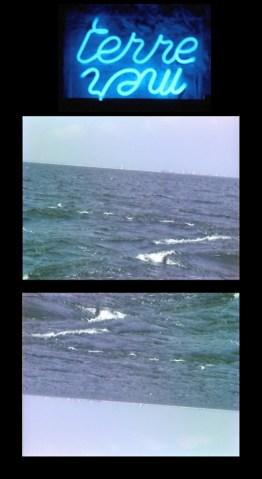 Nil Yalter Deniz Meslekleri 1982 İki kanallı video ve neon yerleştirme Değişken boyutlar