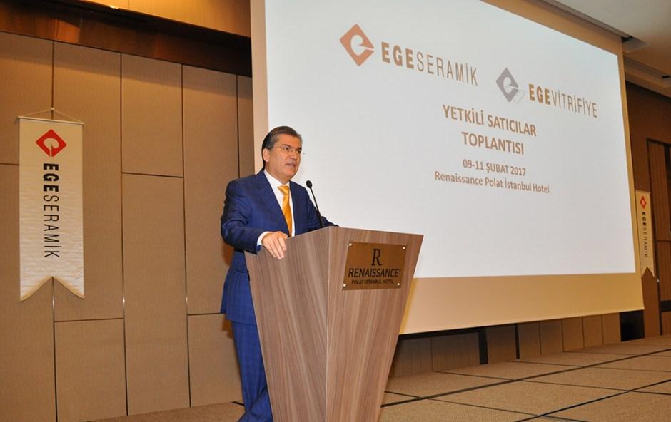 İbrahim Polat Holding CEO'su ve Ege Seramik Yönetim Kurulu Başkan Vekili Baran Demir