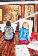 1507537219_Gobekli_Study_07_Sketching_Gobeklitepe_70cmx50cm