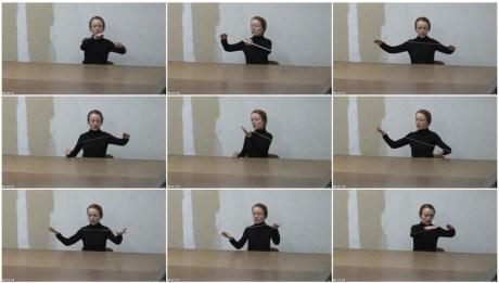 Marie Cool, Fabio Balducci- Untitled, 2004. Sellotape, table 01