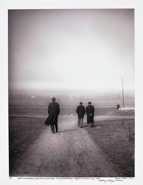 Jonas Mekas- Karanlığın İçinden İmgeler, 2012 (Fotoğraf: Hadiye Cangökçe)