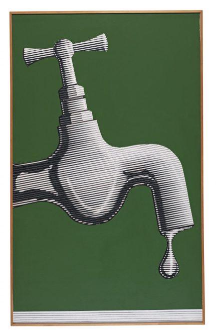 Altan Gürman Musluk 1965, Paris Tuval üzerine akrilik 146 x 90 cm Arter Koleksiyonu Fotoğraf: Hadiye Cangökçe