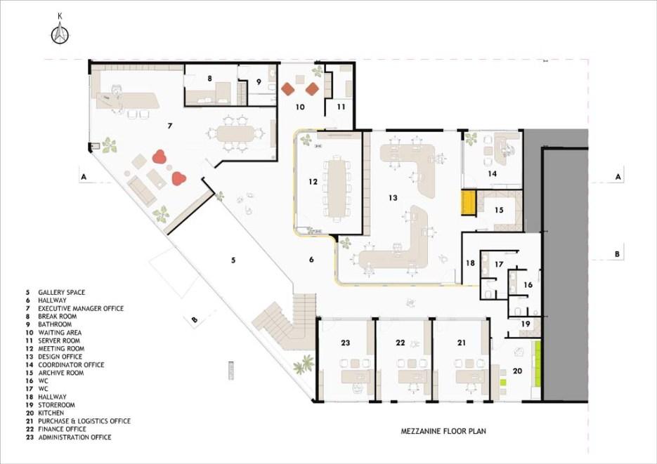 u4marine35-Mezzanine Floor Plan