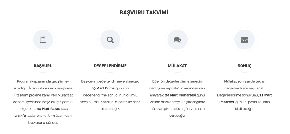 AURA İstanbul 2021 Bahar Dönemi Sertifika Programı