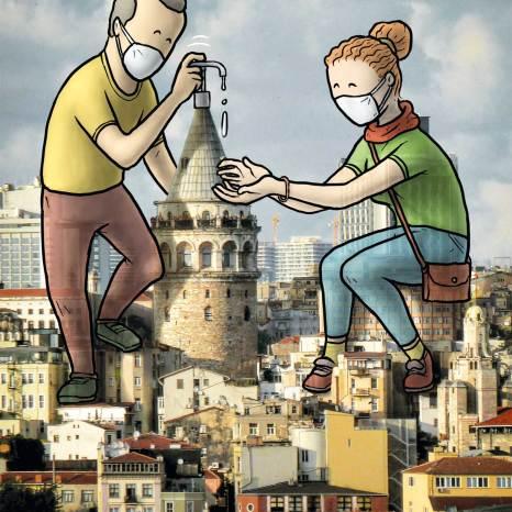 Galata Kulesi, Hakan Keleş
