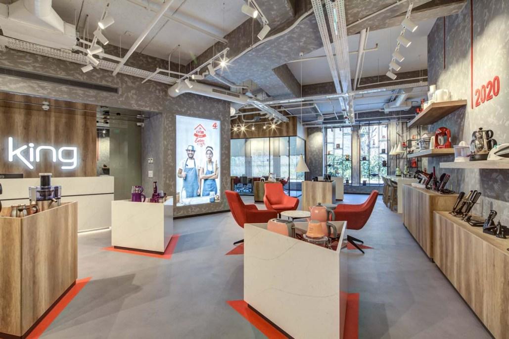 [Proje]: King Ev Aletleri Ofis / Showroom