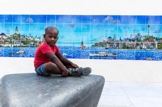 NATO Havana'nın 500. yılı sebebiyle hazırlanan panolar
