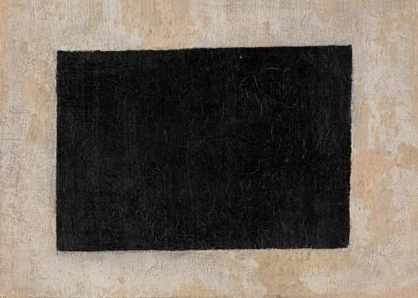 Kazimir Malevich (1879-1935), Siyah Dikdörtgen, 1915, Tuval üstüne yağlıboya 17 × 24 cm, Devlet Çağdaş Sanat Müzesi, Costakis Koleksiyonu, ATH80.10-178