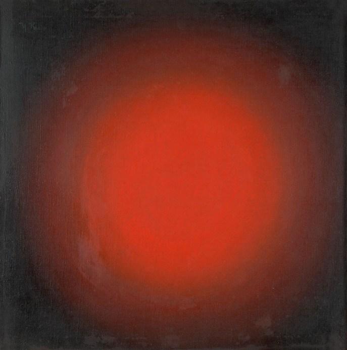 Ivan Kliun (1873-1943), Kırmızı Işık, Küresel Konstrüksiyon, 1923 Tuval üstüne yağlıboya, 68,3 × 67,7 cm, Devlet Çağdaş Sanat Müzesi, Costakis Koleksiyonu, 84.78-1277