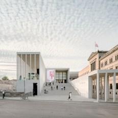 James-Simon-Galerie, David Chipperfield Architects Berlin, Almanya