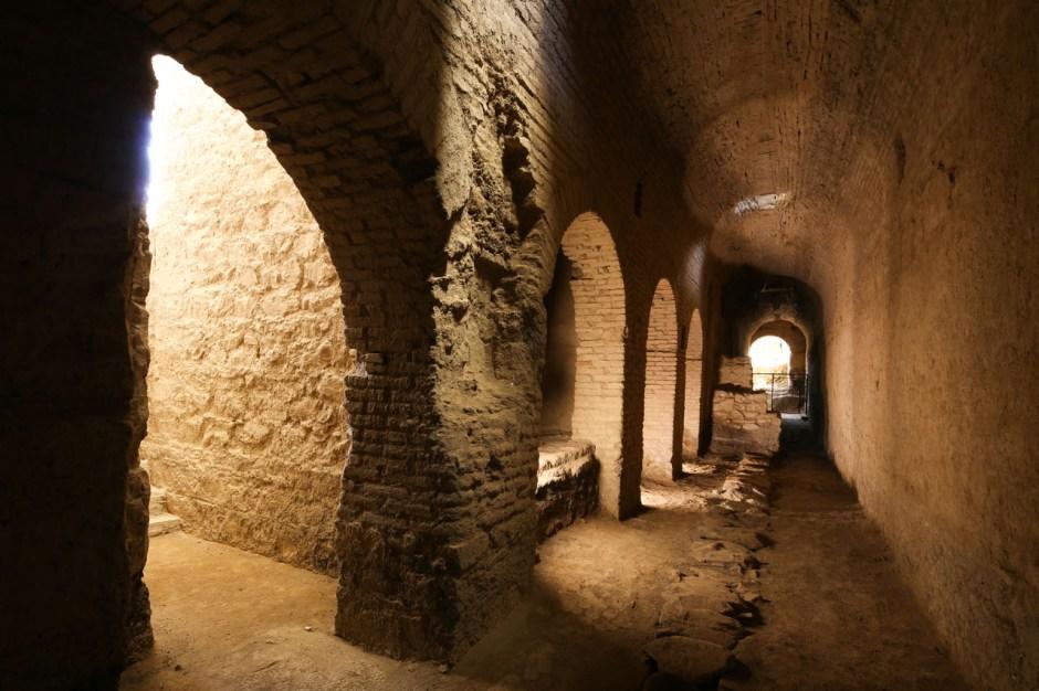 Tonozlu Galeri, Metropolis Antik Kenti