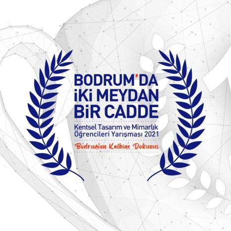 Bodrum'da İki Meydan Bir Cadde, Yarışma Afişi