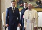 """Duda po spotkaniu z papieżem Franciszkiem: """"Jeśli ktoś przyjeżdża i potrzebuje pomocy, powinniśmy jej udzielić"""""""