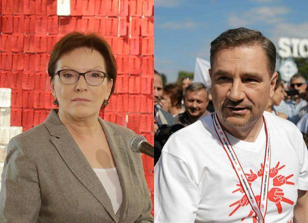 Ewa Kopacz, Piotr Duda