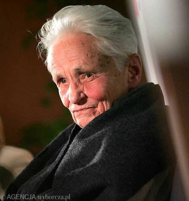 Prof. Barbara Skarga. Styczeń 2007, redakcja