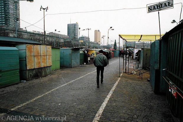 Plac Defilad w grudniu 1994 roku