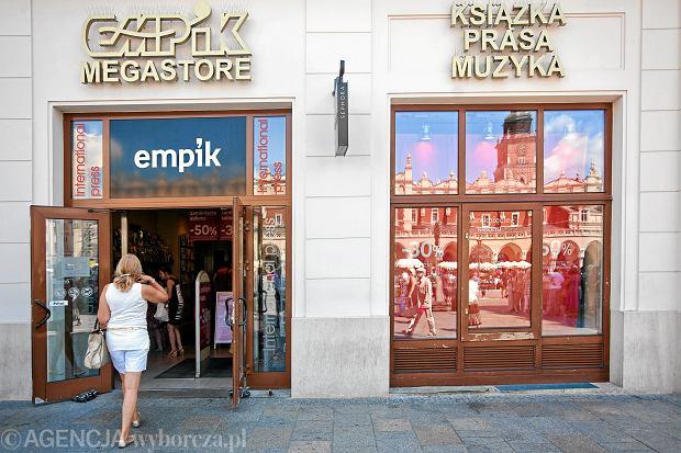 Salon Empik w Krakowie, zamknięty we wrześniu 2013 r.