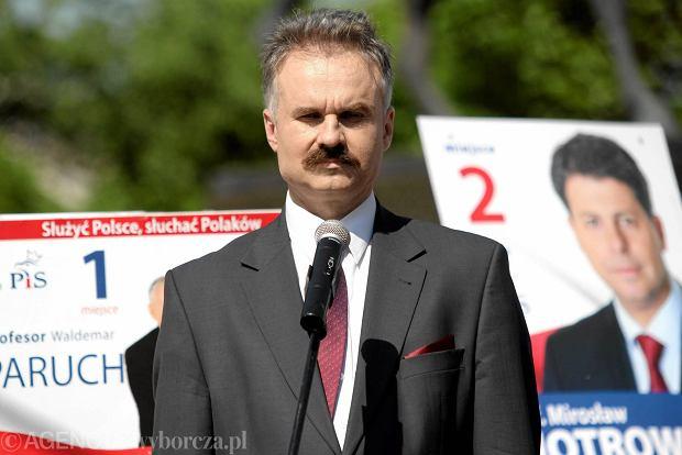 Waldemar Paruch w kampanii wyborczej do europarlamentu