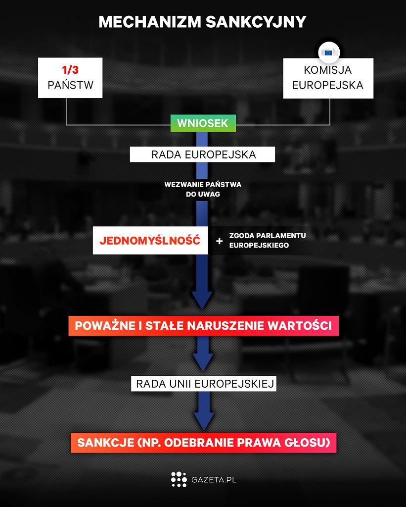 Artykuł 7. Mechanizm sankcyjny