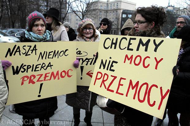 Marsz Pand - razem przeciwko przemocy. Warszawa, 05.12.2014
