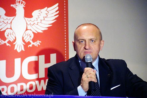 Marian Kowalski, kandydat Ruchu Narodowego na prezydenta RP
