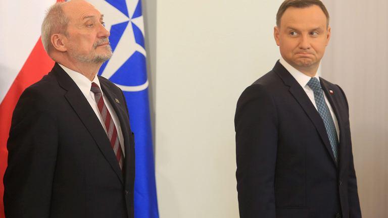 Spotkanie prezydenta Dudy z Naczelnym Dowodcą Sił Sojuszniczych w Europie, 13.04.2017.
