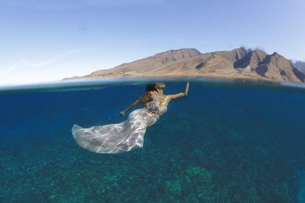 Zaręczyny pod wodą