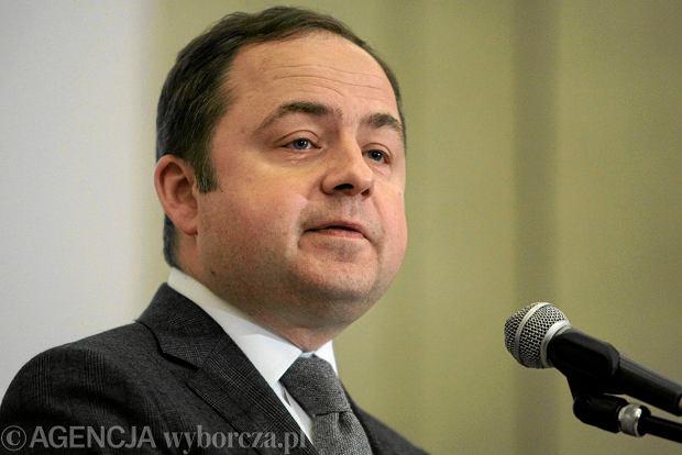 Konrad Szymański, przyszły minister ds. europejskich w rządzie Prawa i Sprawiedliwości