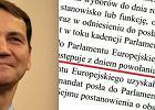 Marszałek Radosław Sikorski