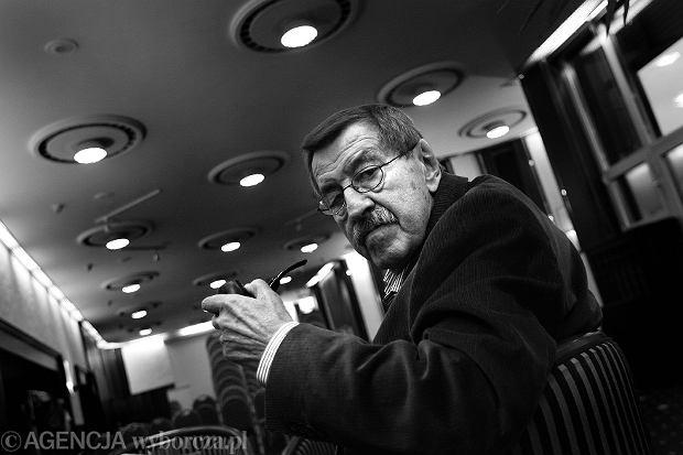 Günter Grass, październik 2007