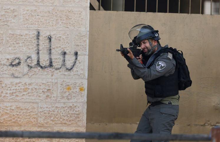 Starcia między Palestyńczykami iizraelskimi siłami bezpieczeństwa