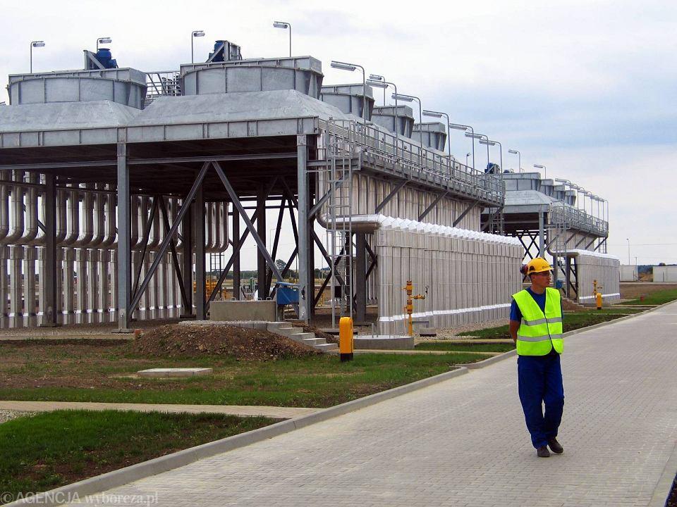Otwarcie rurociągu Jamał - Europa Zachodnia, 18.07.2005.