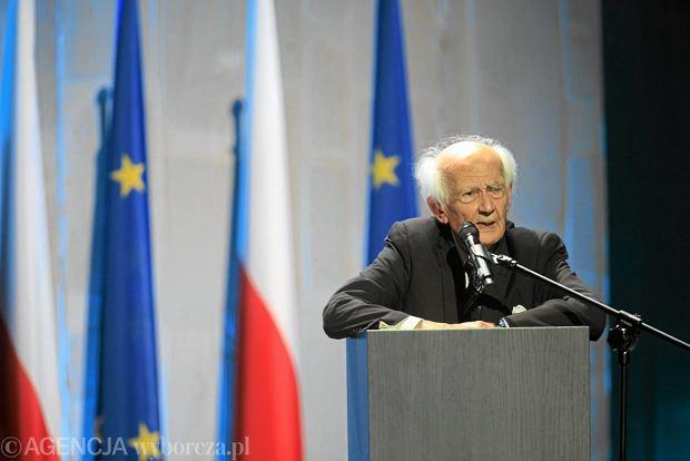 Prof. Zygmunt Bauman, inauguracja Europejskiego Kongresu Kultury we Wrocławiu w 2011 roku