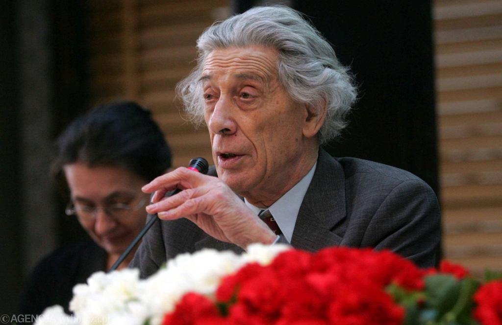 Prof. Jerzy Jedlicki (fot. Wojciech Olkuśnik/AG)
