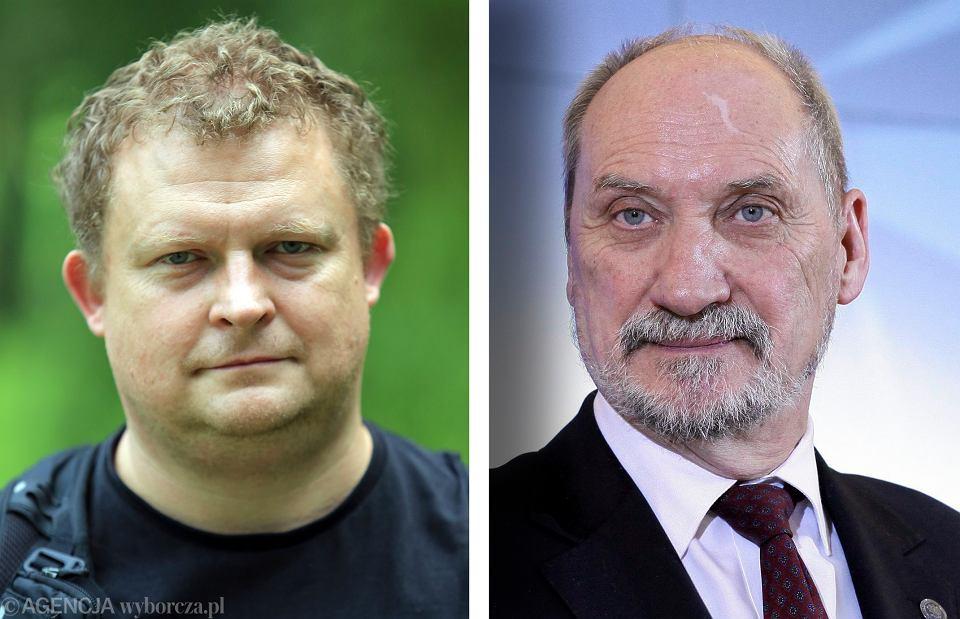 Tomasz Piątek i Antoni Macierewicz