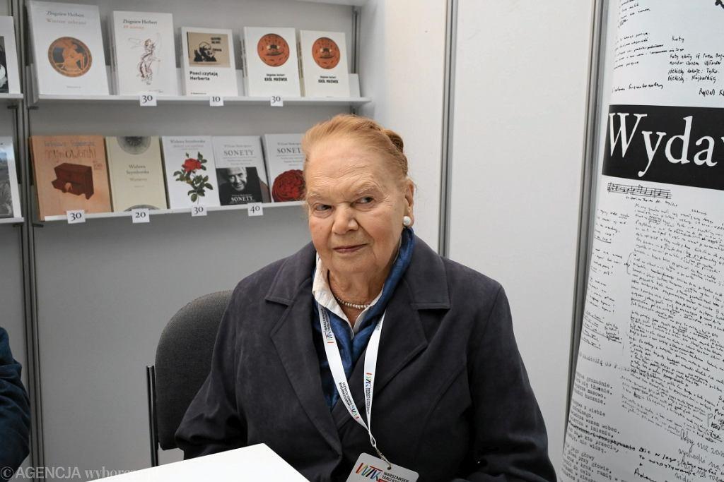 Poetka Julia Hartwig (fot. Agata Grzybowska/AG)