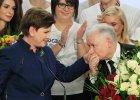Marta Kaczyńska, Beata Szydło i Jarosław Kaczyński