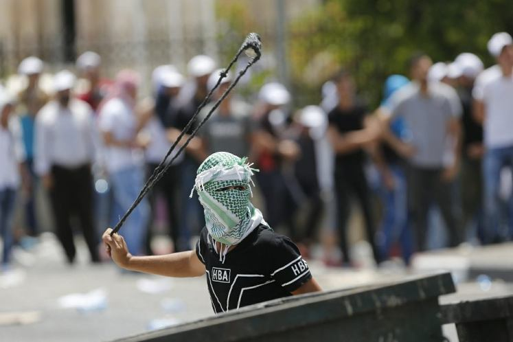 Starcia Palestyńczyków zizraelskimi służbami bezpieczeństwa