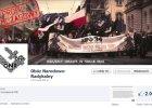 """Strona ONR usunięta z Facebooka. """"Prześladowanie patriotów nie ustaje. Antykomunizm to myślozbrodnia"""""""