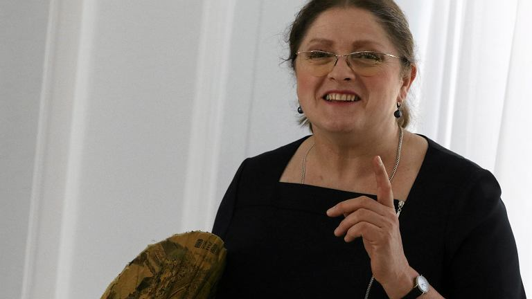 Krystyna Pawłowicz w dniu 20. posiedzenia Sejmu VIII Kadencji