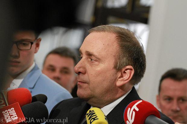 Po dymisjach w rządzie: Grzegorz Schetyna deklaruje, że nie wróci na stanowisko marszałka Sejmu